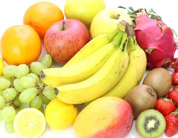 季節に応じた産地指定の果物