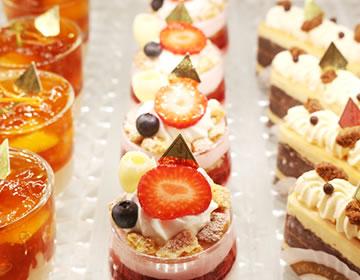 季節に合わせた限定ケーキがいっぱい!